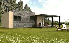 Casas modulares prefabricadas Cube – Cube 75