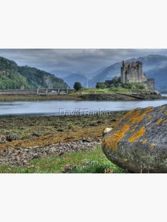 """Eilean Donan Castle the Highlands, Scotland"" Art Print by goldyart Highlands Scotland, Scottish Highlands, Print Design, Art Print, Eilean Donan, Vibrant Colors, Colours, Colour Images, Large Prints"