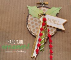 Ornament #DIY #craft #howto #Christmas #tree #ornament #embroideryhoop