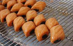 Makrouts frits, passage des makrouts à la friture - Makrout, recette du makrout, makrout facile en pas-à-pas photo