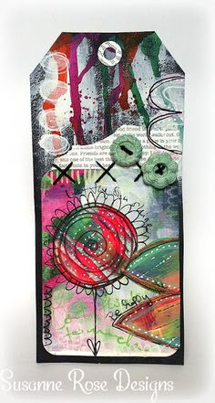 Susanne Rose - Papierkleckse: WOW! Embossing Powder Blog Hop