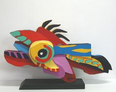 Flying Fish: Karel Appel. 1977 82 X 52 X 18 CM