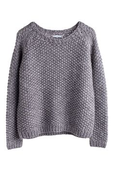 A great layering piece. were over a white Oxgord with dark blue skinnies or grandfather pants. Zelda knit sweater | Weekday