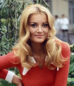 """""""Happy birthday to Barbara Bouchet! Remember this beauty from back in the day? Barbara Carrera, Barbara Bouchet, Pelo Vintage, Portrait, Sixties Fashion, Actrices Hollywood, Iconic Women, Models, Classic Beauty"""