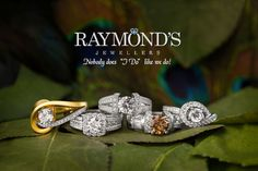 We have almost 300 #engagement #rings on hand and thousands of others at our fingertips!  #SiouxFalls www.raymondsjewellers.com