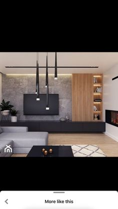 Living Room Wall Units, Living Room Tv Unit Designs, Living Room Colors, New Living Room, Interior Design Living Room, Living Room Decor, Modern Tv Room, Home Room Design, Living Room Inspiration
