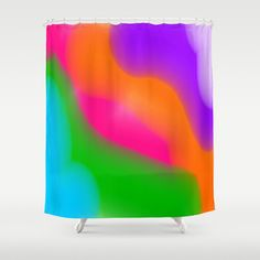 Thank you to the person who purchased my Sherbet Rainbow colors shower curtain! Enjoy...