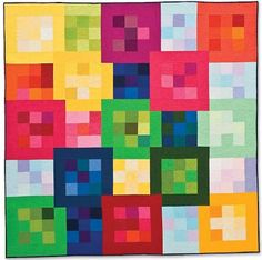 modern quilts | Here are some photos of Cherri's amazing quilts in City Quilts