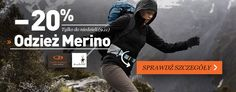 Promocja na odzież i bieliznę termoaktywną Merino Icebreker i Smartwool - 20% w sklepie Landersen.pl tylko do 9.11.2014