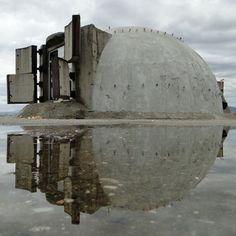 Abandoned weapons bunker in Albania (x-post r/evilbuildings) [1200x1200] : AbandonedPorn