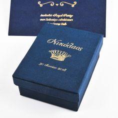 Κουτάκι μπομπονιέρας για βάπτιση Boxes, Personalized Items, Luxury, Crates, Box, Cases, Boxing