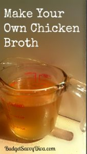 Make Your Own Chicken Broth Recipe