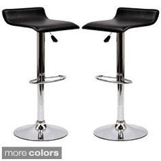 Modern Adjustable Bar Stools (Set of 2) - Free Shipping Today - Overstock.com - 18194132