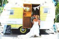 Tinker Tin Trailer Co. Vintage Trailer Wedding!!! Coming to Baileys, next weekend!