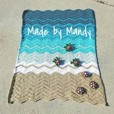 Items similar to Baby sea turtle blanket baby blanket on Etsy Baby Afghan Crochet, Baby Afghans, Crochet Blankets, Crochet Turtle Pattern Free, Crochet Patterns, Turtle Beach, Boy Blankets, Crochet Cross, Sea Turtles