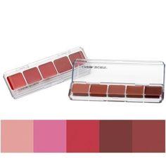 Cinema Secrets Ultimate Lip Palette (Summer Nights) by Cinema Secrets Purple Lipstick, Pink Lips, Lip Makeup, Beauty Makeup, Cinema Secrets, Summer Colors, Summer Nights, Lip Colors, The Secret
