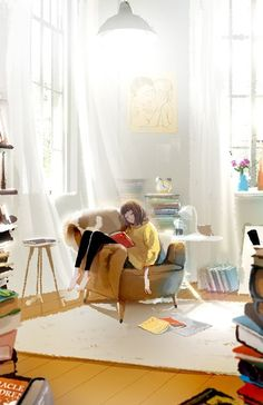 Publication of 'Hanuol's Reading Through Pictures,' Image Box - Cute Illustrations by Ji Hyuk Kim # Books girl Cute Illustrations by Ji Hyuk Kim Illustration Mignonne, Cute Illustration, Your Paintings, Book Art, Concept Art, Anime Art, Manga Anime, Digital Art, Animation
