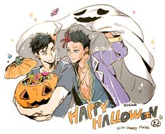 Halloween ... Drawn by bingo 337   ...   alexander 'alec' lightwood, malec, magnus bane, the mortal instruments, shadowhunters
