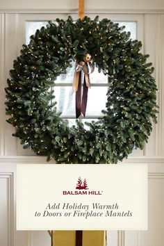 Balsam Hill™'s stunning selection of artificial Christmas wreaths and garlands lets you enjoy all the beauty of traditional holiday foliage without the hassle of shedding needles. Order & save on our Artificial Christmas Wreaths & Garlands on Clearance with Free Shipping! http://ow.ly/WW3Td