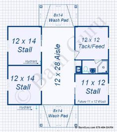 1000 images about small horse barns on pinterest horse for Horse stall floor plans