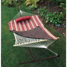 You deserve a break. Take one in a SONOMA outdoors hammock. #Kohls