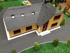 Wooden Cladding, Student House, Project Ideas, Projects, Scale Models, Shed, Construction, Outdoor Structures, Log Projects