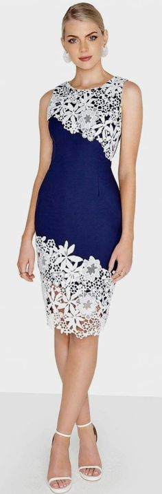 Giovanna Navy Bodycon Dress Navy Bodycon Dress Make an impression . Read more The post Giovanna Navy Bodycon Dress appeared first on How To Be Trendy. Navy Bodycon Dress, Bodycon Outfits, Navy Dress, Dress Outfits, Fashion Outfits, Dress Lace, Dress Fashion, Trendy Fashion, Trendy Dresses