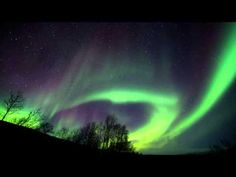 Aurora Borealis HD timelapse, Norway and Finland, February 2013 - YouTube