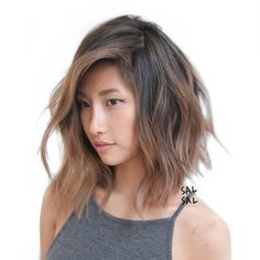 New hair color asian balayage long bobs Ideas Fall Hair Color For Brunettes, Hair Color Asian, Asian Ombre Hair, Hair Colour, Tan Skin Hair Color, Asian Hair Dyed, Asian Hair Bob, Asian Bob Haircut, Wavy Bob Haircuts