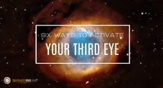 Activating Your Third Eye