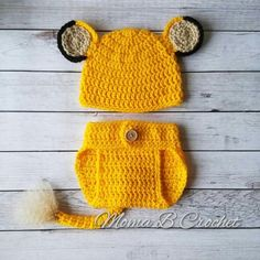 Crochet Lion Baby Set, Cub Baby Set, Lion Cub Baby Set, Simba Baby Set Source by sets clothes Crochet Lion, Crochet Baby Cocoon, Crochet Amigurumi, Crochet For Boys, Newborn Crochet, Crochet Baby Costumes, Crochet Baby Clothes, Crochet Baby Hats, Cute Baby Clothes