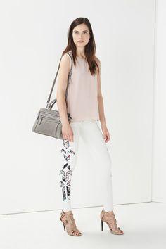 $178 - great back detail -petal pink Rebecca Minkoff Walter Tank | Rebecca Minkoff Online Store