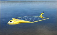 The Spyglass Solar-powered Autonomous Underwater Vehicle (AUV) enables mobile sampling and analysis.  Results are transmitted directly to wireless networks on shore or via Spyglass relay station buoys.