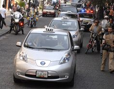 Inicia el proyecto de los taxis eléctricos en el DF - Chilanga Banda #Mexico