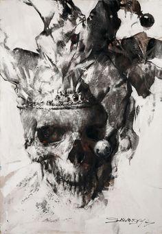 Ivan Slavinsky (was born 1968, Leningrad, in the artists family).