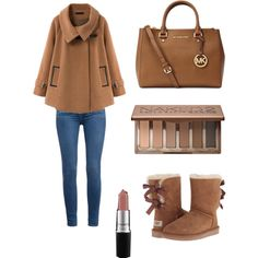 A fashion look from December 2014 featuring Chicnova Fashion coats, Paige Denim jeans and UGG Australia ankle booties. Browse and shop related looks.