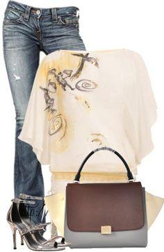 celine bag authentic - Celine Trapeze Leather Handbag Green Cream Black | Cuteeeee BAG ...