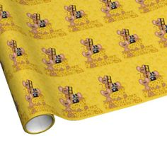 new at @Zazzle Inc. :Say #Cheese Linen #Wrapping #Paper