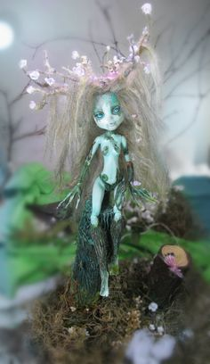 excellentmonsterhighrepaints: Dryad by NickiiRose