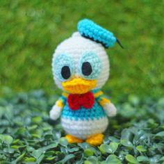 Donald Duck #craft #amigurumiaddict #amigurumis #crochetaddict