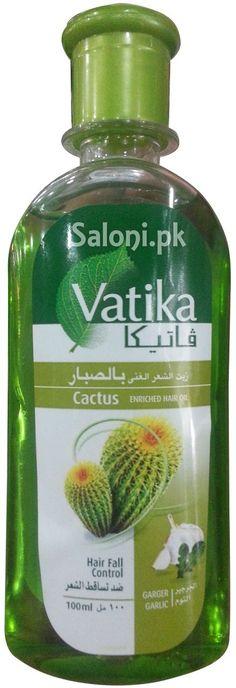 VATIKA CACTUS ENRICHED HAIR OIL Saloni™ Health