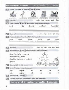 Album Archive - Gyakoroljuk a helyesírást Home Learning, How To Make Paper, Grade 1, Worksheets, Sheet Music, Teaching, Writing, Education, School