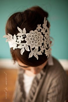 Vintage LACE SPANISH VEILS | Lace Wedding Veil To see more designs visit these links macro lace ...