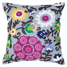 Rizzy Home Embroidered Floral