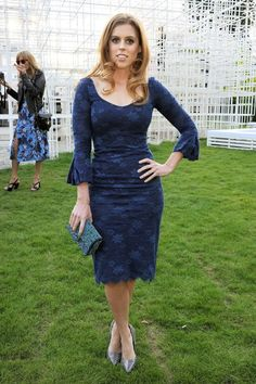Princess Beatrice in L'Wren Scott