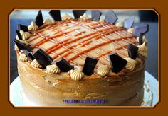 Dulche de Leche Buttercream Layer Cake