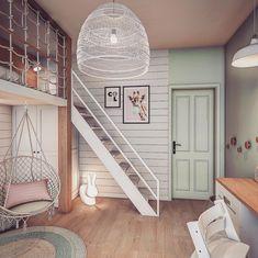 Cool Kids Bedrooms, Cute Bedroom Ideas, Room Ideas Bedroom, Small Room Bedroom, Awesome Bedrooms, Cool Rooms, Home Bedroom, Bedroom Decor, Dream Rooms
