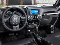 2012 Jeep Wrangler Interior