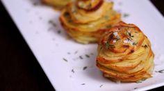 Recette facile: Elle remplit un moule à muffins avec des pommes de terre tranchées… attendez de voir ce plat délicieux ! – TFI