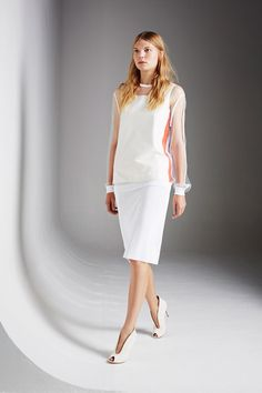 Pringle of Scotland Spring 2014 Ready-to-Wear. Young and sophisticated+I loved the shoes.